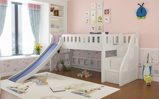 Modular Children loft bed (Low Height)