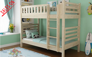 convertible wood bunk bed